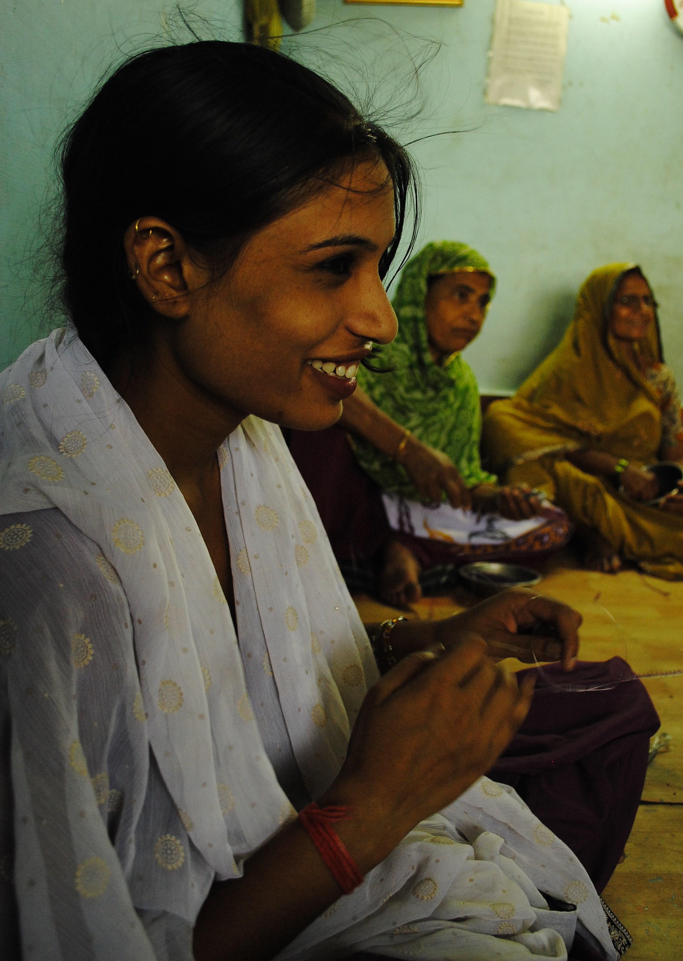 "Mahila Vikas Samooh"" – Woman Development Group – in Bawana, New Delhi"